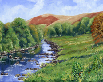 Hint of Autumn Oil Painting