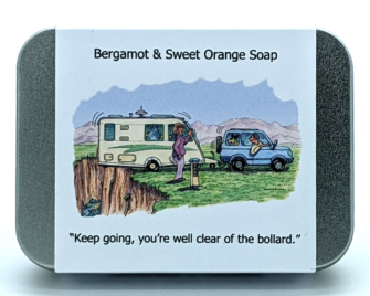 Caravanning - Clear of the bollard
