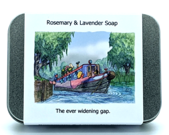 Narrowboats - Ever widening gap