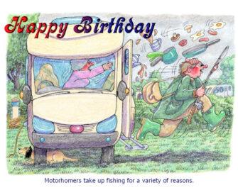 Motorhome fishing