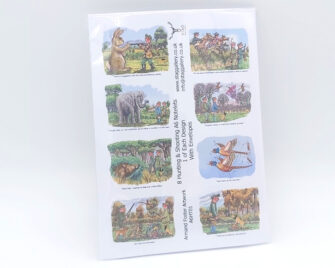 Hunting & Shooting A6 Notelet Pack Cover